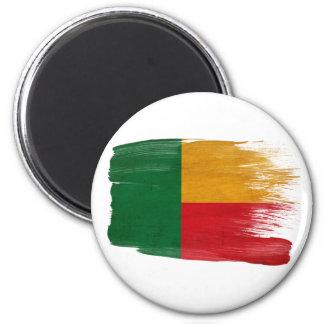 Imanes de la bandera de Benin
