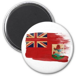 Imanes de la bandera de Bermudas Imán Redondo 5 Cm