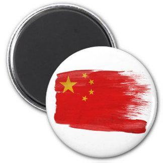 Imanes de la bandera de China Imán Redondo 5 Cm