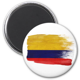 Imanes de la bandera de Colombia Imán Redondo 5 Cm