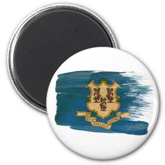 Imanes de la bandera de Connecticut Iman