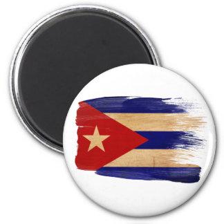 Imanes de la bandera de Cuba Imán Redondo 5 Cm