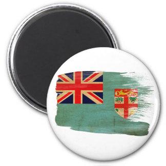 Imanes de la bandera de Fiji Imán Redondo 5 Cm
