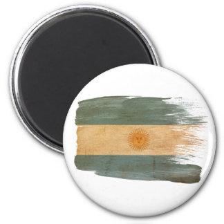 Imanes de la bandera de la Argentina Imán Redondo 5 Cm