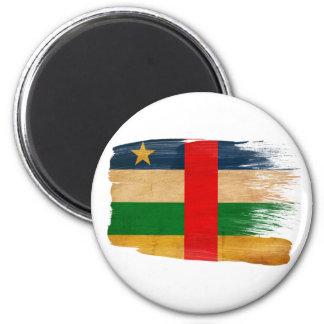 Imanes de la bandera de la República Centroafrican