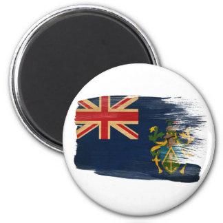 Imanes de la bandera de las islas de Pitcairn Imán Redondo 5 Cm