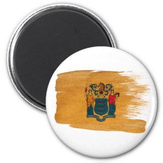 Imanes de la bandera de New Jersey Imanes