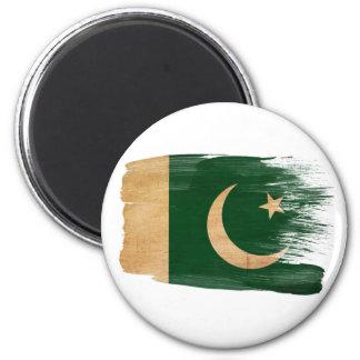 Imanes de la bandera de Paquistán Imán Redondo 5 Cm