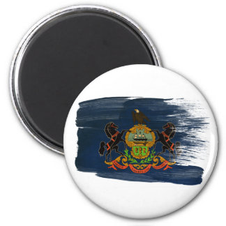 Imanes de la bandera de Pennsylvania Iman Para Frigorífico