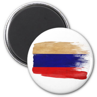 Imanes de la bandera de Rusia Imán Redondo 5 Cm