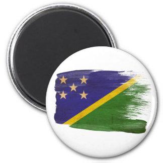 Imanes de la bandera de Solomon Island Imán Redondo 5 Cm