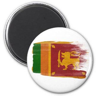 Imanes de la bandera de Sri Lanka Imán Para Frigorifico