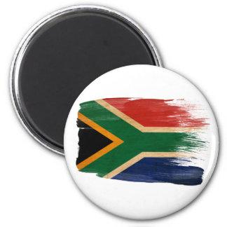 Imanes de la bandera de Suráfrica Imán Redondo 5 Cm