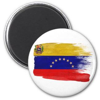 Imanes de la bandera de Venezuela Imán Redondo 5 Cm