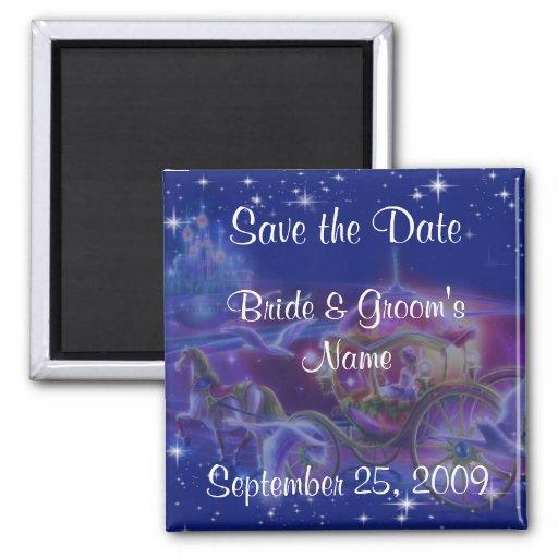 Imanes de princesa Wedding Save The Date Iman Para Frigorífico