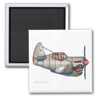 Imanes del avión de combate del aeroplano WW2 Imán De Nevera