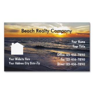 Imanes del negocio de los bienes raices de la tarjetas de visita magnéticas (paquete de 25)