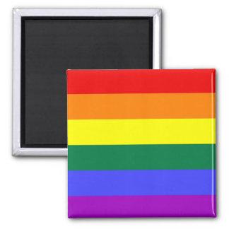Imanes del orgullo de LGBT Imán Cuadrado