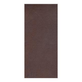 Imitación de cuero de Brown oscuro Lonas