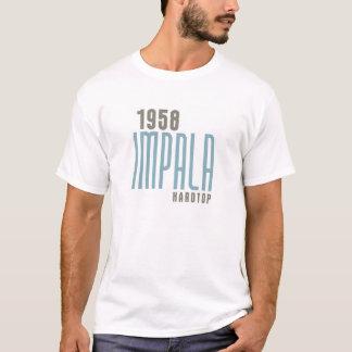 IMPALA 1958 Hardtop - turquesa tropical Camiseta