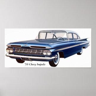 'Impala de 59 Chevy Póster