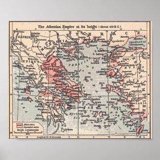 Imperio ateniense impresiones