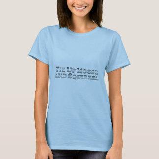Implique los alces y la ardilla - básicos camiseta