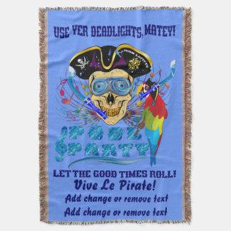 IMPORTANTE de la fiesta en la piscina del pirata Manta