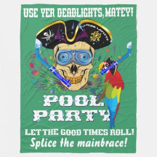 IMPORTANTE de la fiesta en la piscina del pirata Manta Polar