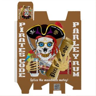 IMPORTANTE del código del pirata leído sobre Caja Para Botella De Vino
