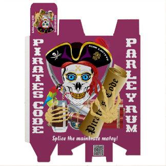 IMPORTANTE del código del pirata leído sobre Cajas De Vino