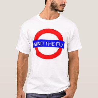 Importe de la gripe camiseta