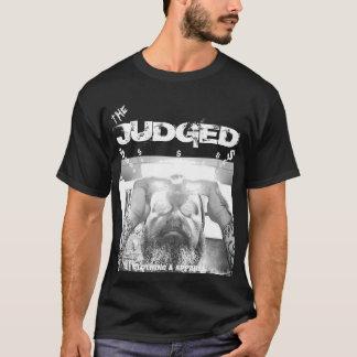Importe en mi camiseta negra básica juzgada dinero