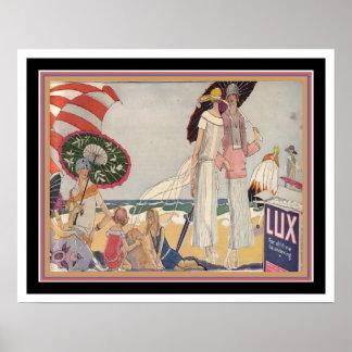 impresión 16x20 del anuncio del lux del art déco