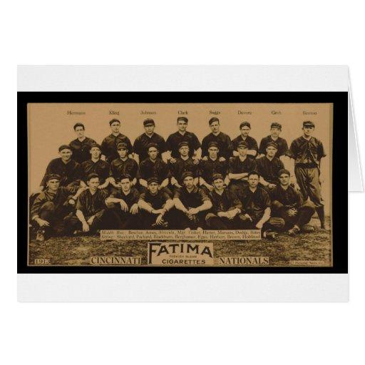 Impresión 1913 de tarjeta del tabaco de Fátima de