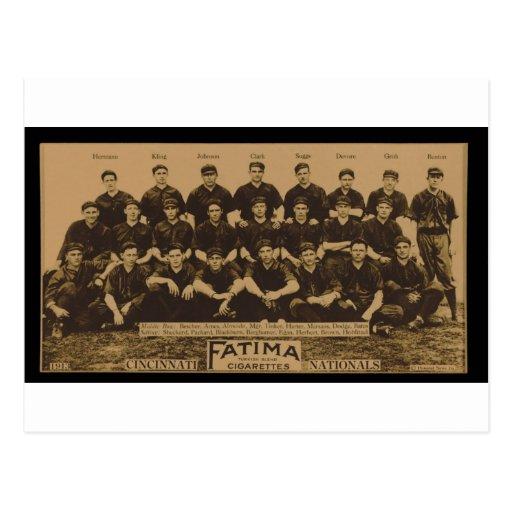 Impresión 1913 de tarjeta del tabaco de Fátima de  Tarjeta Postal