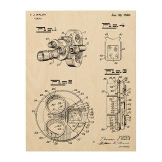 Impresión 1940 del dibujo del arte de la patente