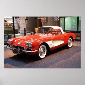 Impresión 1960 de Chevrolet Corvette
