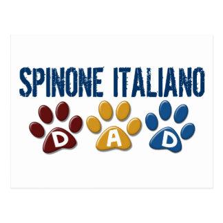 Impresión 1 de la pata del papá de SPINONE ITALIAN Tarjeta Postal