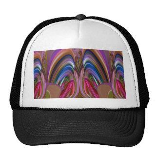 Impresión abstracta colorida torcida barata de la gorros