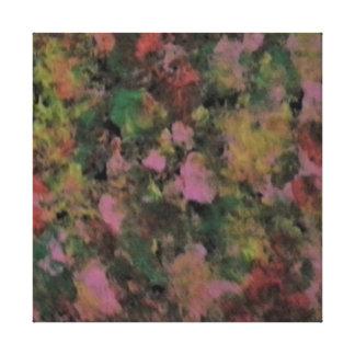 Impresión abstracta del arte de la lona de pintura