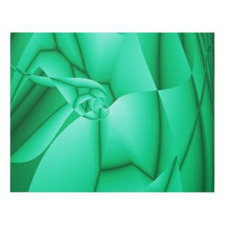 Impresión abstracta del arte del fractal de la cuadro