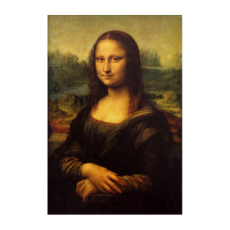 Impresión Acrílica ~ 1503-1517 de Mona Lisa… Leonardo da Vinci