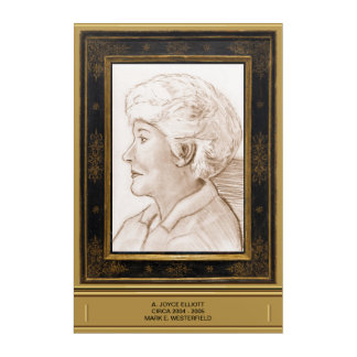 Impresión Acrílica A. Joyce Elliott circa 2004 - 2005