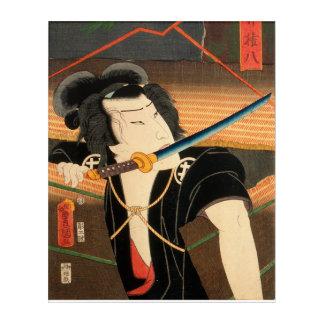 Impresión Acrílica Actor japonés (#4) (impresión del japonés del