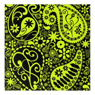 Impresión Acrílica amarillo