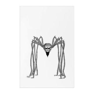 Impresión Acrílica araña