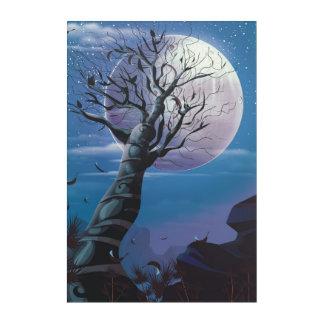 Impresión Acrílica Árbol de la luna