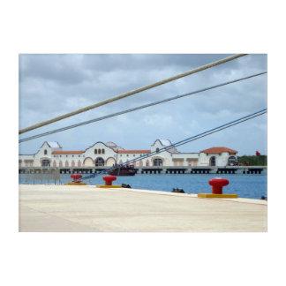 Impresión Acrílica Área de embarque de Cozumel