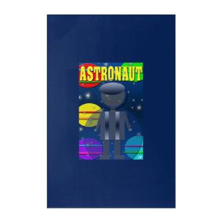 Impresión Acrílica Astronauta